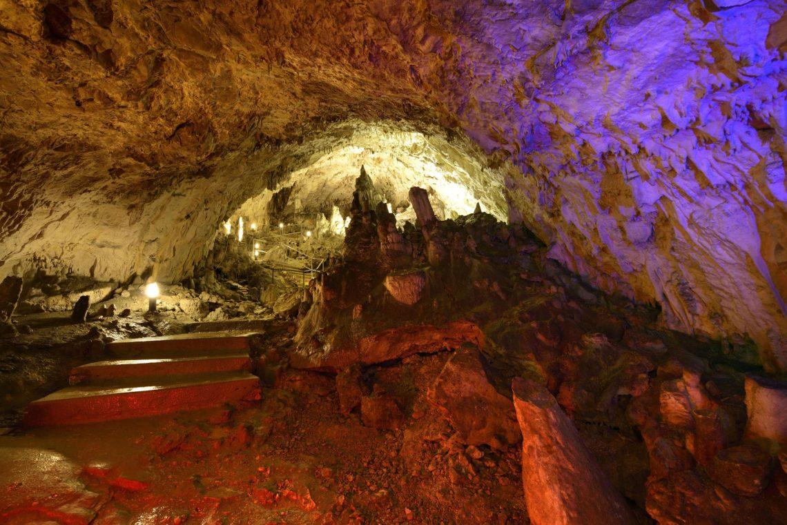 Parco Fluviale delle Acquevive, Grotte del Cavallone